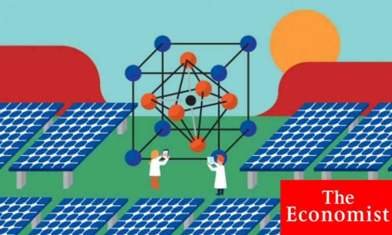 The Economist on Oxford PV Perovskite solution